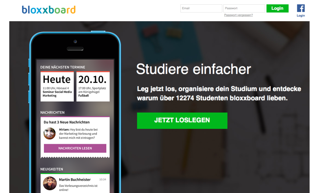 bloxxboard-screenshot-app